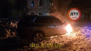 Поджигатель автомобиля создателя сообщества dtp.kiev.ua оказался в тяжелом состоянии