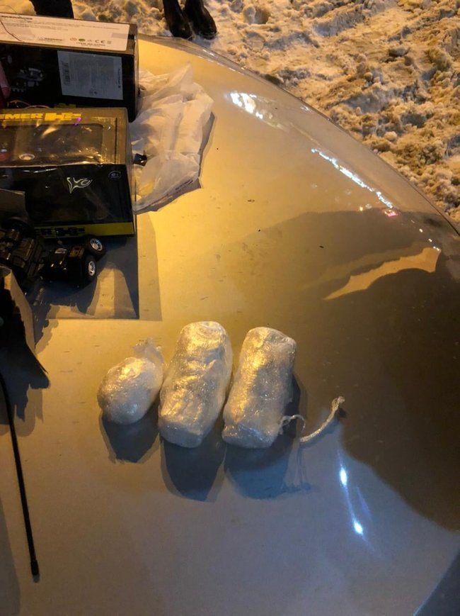 Задержание в Киеве наркоторговца, который расфасовывал кокаин в игрушки