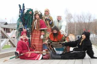 Под Киевом зима уйдет по-древнеславянски