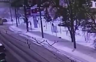 Появилось видео странного взрыва в России
