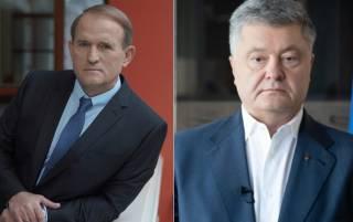 Порошенко попросил Медведчука организовать поставку электроэнергии в Крым