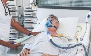 В Украине выживает лишь каждый десятый больной коронавирусом на аппарате ИВЛ