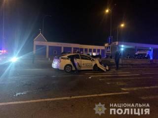 Под Одессой патрульный автомобиль спровоцировал смертельное ДТП