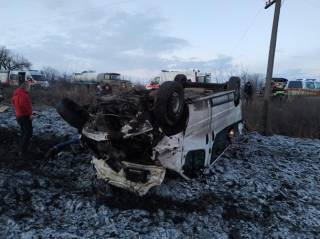 В Харьковской области произошло кровавое ДТП: погиб человек, много пострадавших