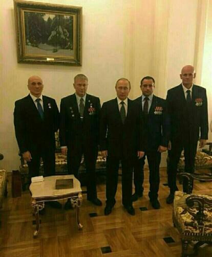 Главари ЧВК Вагнера на приеме у Путина