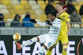 Лига Европы: «Динамо» дома проиграло «Вильяреалу»