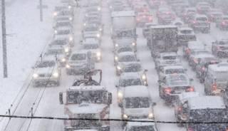 Снегопад в Киеве может затянуться на несколько дней