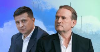 Действия Зеленского в отношении ОПЗЖ демонстрируют, что он воспринимает Медведчука как своего самого мощного конкурента, — эксперт