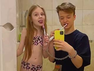 Детский омбудсмен заинтересовался «романом» между 8-летней моделью и 13-летним блогером