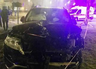 Виновником сокрушительного ДТП на Троещине оказался бывший полицейский на чужой машине