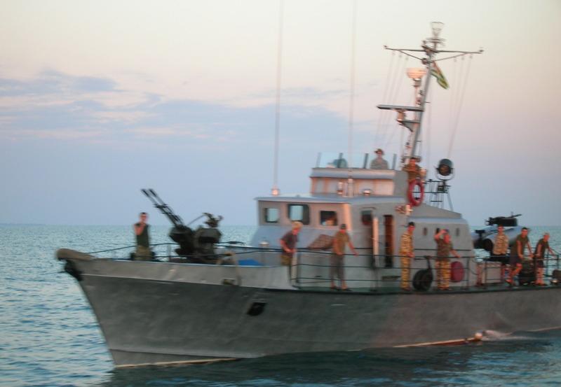 корабль ВМФ Абхазии