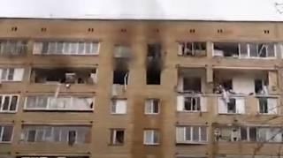 Появилось видео с места смертельного взрыва в Химках