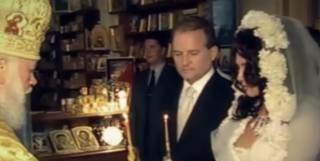 Оксана Марченко в фильме «Паломница» показала уникальные кадры венчания с Виктором Медведчуком