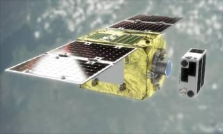 Британцы и японцы запустили с Байконура космический мусорщик