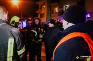 В Тернополе едва не сгорели спасатели