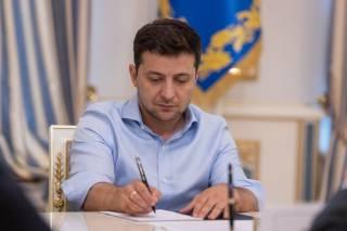Зеленский подписал указ о новых санкциях СНБО