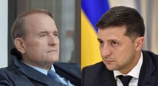 Бортник: Зеленский видит в Медведчуке более сильного противника, чем Порошенко