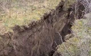 Опубликовано видео, как «треснул» Тбилиси