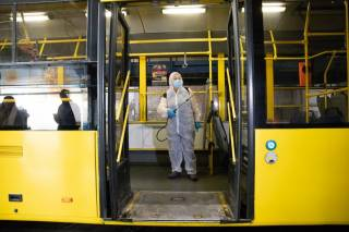 В Киеве могут остановить общественный транспорт