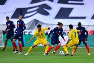 Отбор на ЧМ-2022: Украина играет вничью с Францией