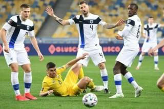 Отбор на ЧМ-2022: Украина нелепо теряет победу в матче с Финляндией