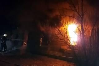 Жертвами пожара в Днепропетровской области стали две женщины и мужчина