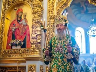 Предстоятель УПЦ рассказал, почему святые жили в маленьких пещерах