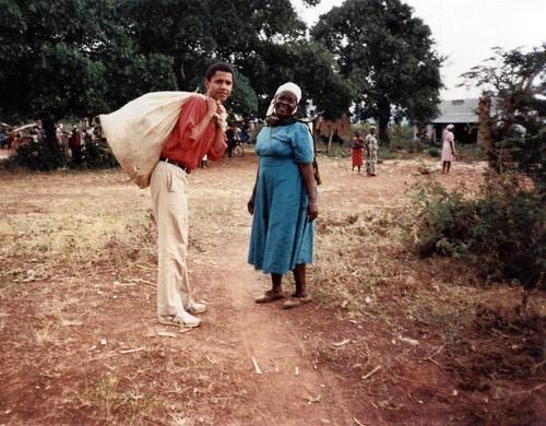 Барак Обама и Сара Обама