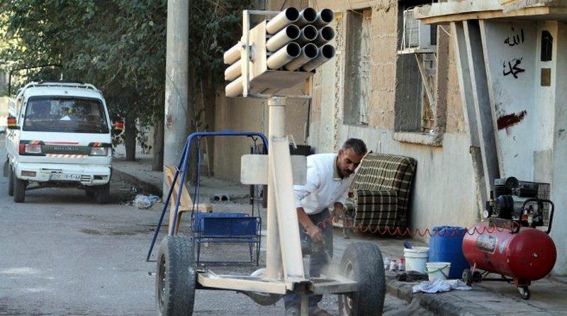 установка для пуска реактивных снарядов Град