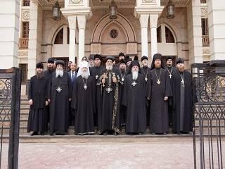 Патриарх Коптской Церкви принял делегацию монахов УПЦ