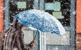 Киевлян предупредили о надвигающемся снегопаде