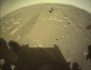 Американцы высадили на Марс аппарат, который впервые в истории пролетит над его поверхностью