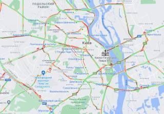 Второй день локдауна в Киеве ознаменовался транспортных коллапсом