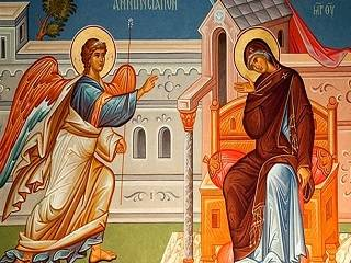 В сети доступен текст службы Благовещения Пресвятой Богородицы с переводом и объяснениями