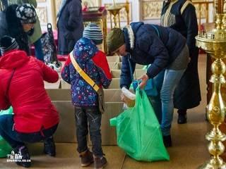 В Одессе УПЦ раздает нуждающимся 250 тонн продуктов в год