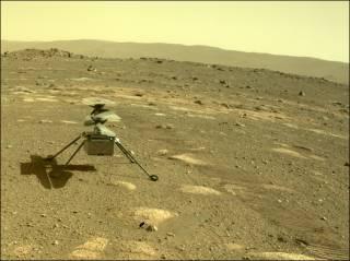 Первый в истории марсианский летательный аппарат прошел важное испытание