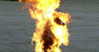 На Ивано-Франковщине мужчина совершил акт самосожжения