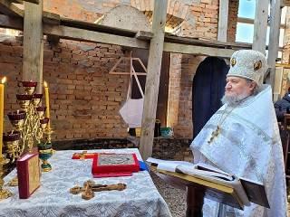 В Межигорском монастыре УПЦ помянули древние козацкие роды по помяннику XVII века