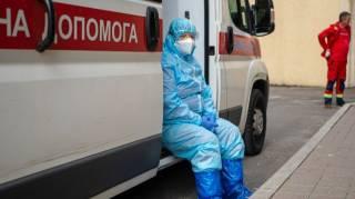 Украина вышла на пик третьей волны коронавируса