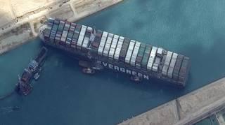 Египет требует от владельцев судна Ever Given гигантскую компенсацию за блокировку Суэцкого канала