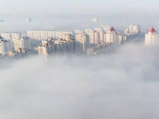 Киев вошел в десятку крупных городов с самым грязным воздухом