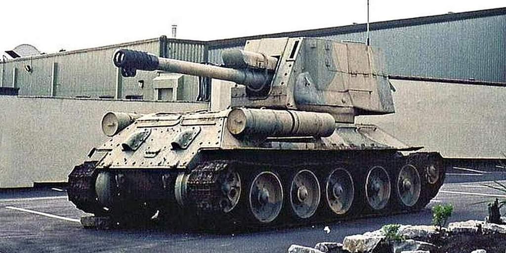 Египетская САУ на базе Т-34