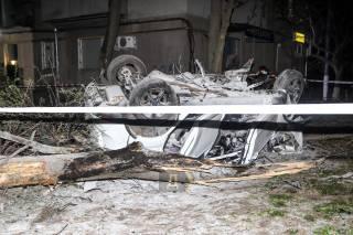 ДТП в Одессе: автомобиль превратился в груду металла – погиб человек