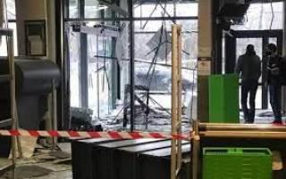 Под Киевом неизвестные взорвали банкомат прямо в магазине