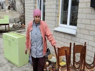 Верующие УПЦ передали помощь пострадавшим от лесных пожаров на Луганщине
