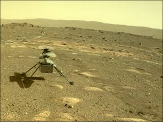 Первый человеческий аппарат совершил полет над поверхностью другой планеты