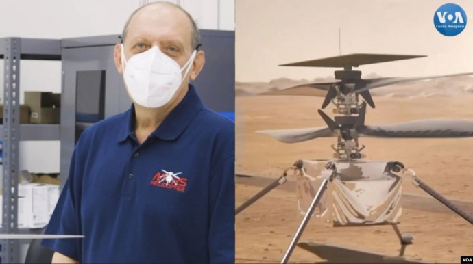 Игорь Панченко и первый марсианский вертолет Ingenuity