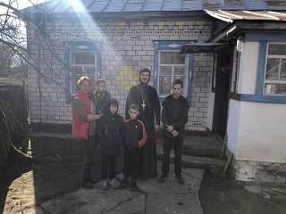 Нежинская епархия УПЦ подарила дом многодетной семье