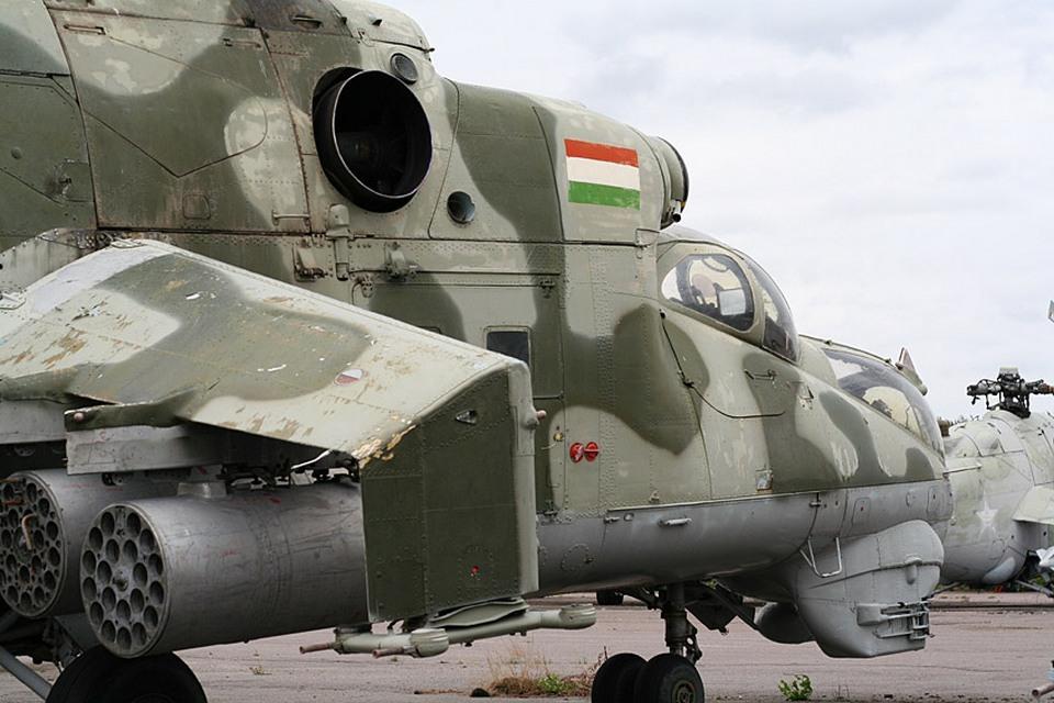 Ми-24 ВВС Таджикистана