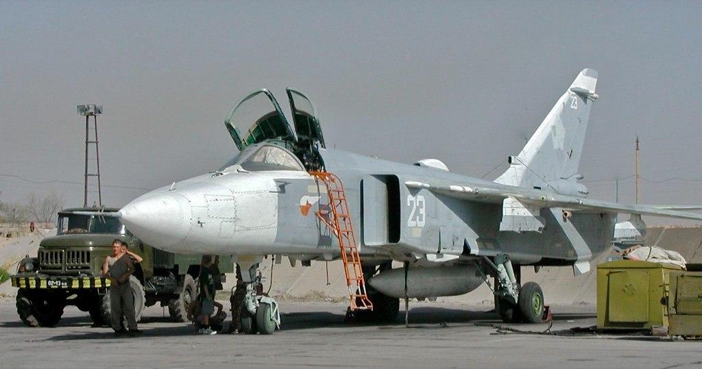 Су-24 ВВС Узебкистана